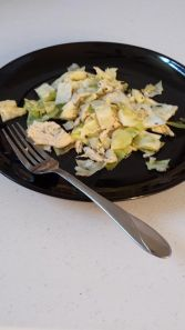 cabbage and chicken
